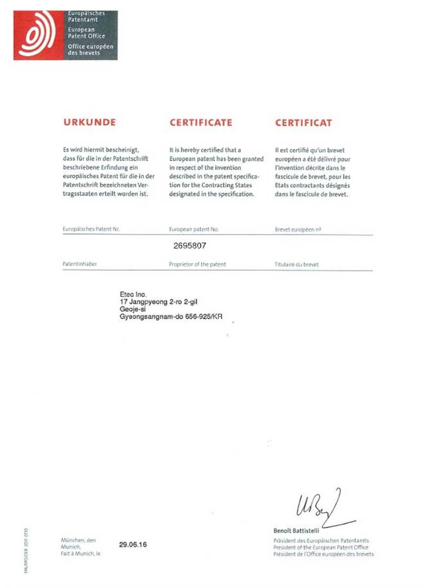 European-Patent